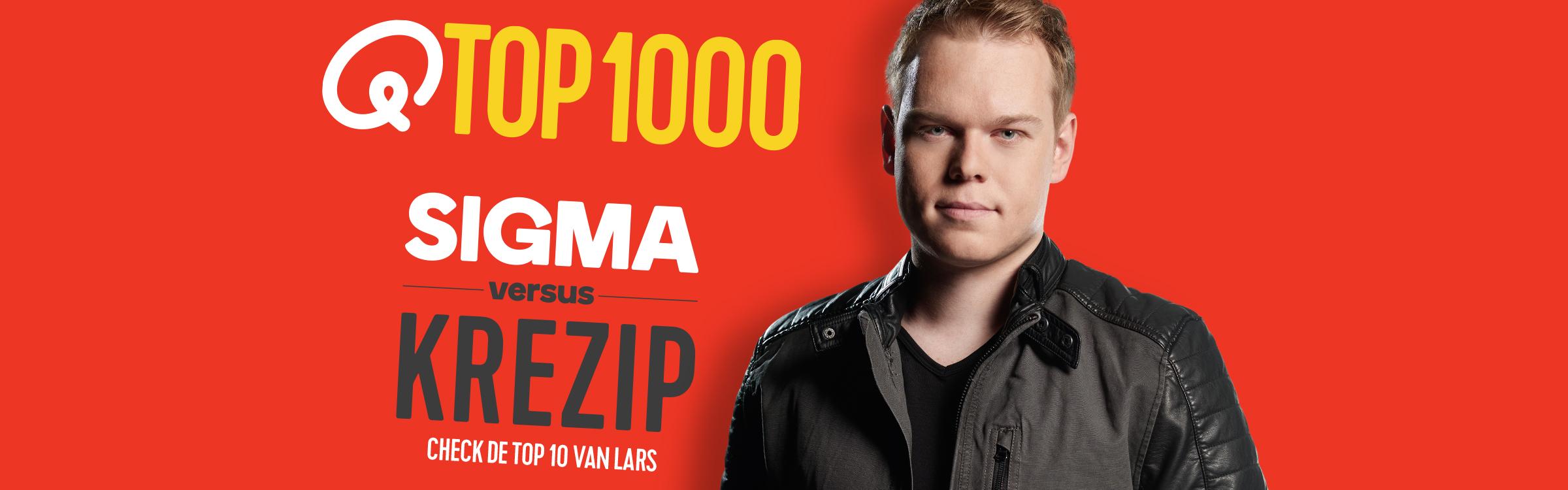 Qmusic actionheader top1000 djs lars