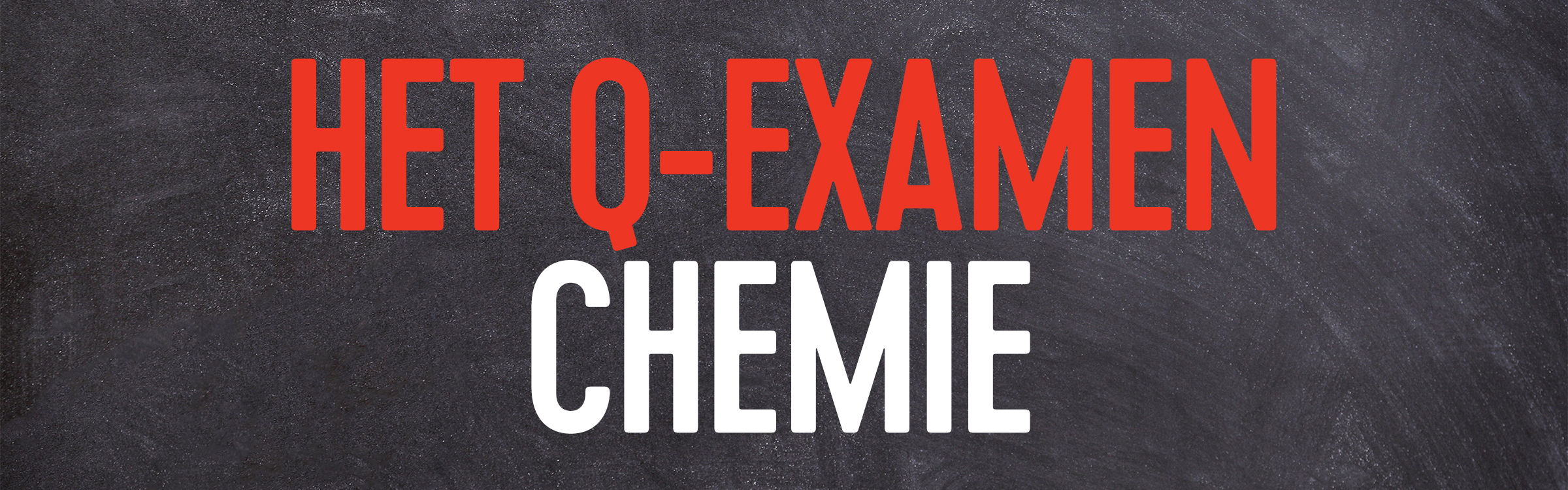 Q examen chemie header