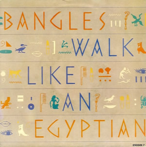 Bangles walk like an egyptian s