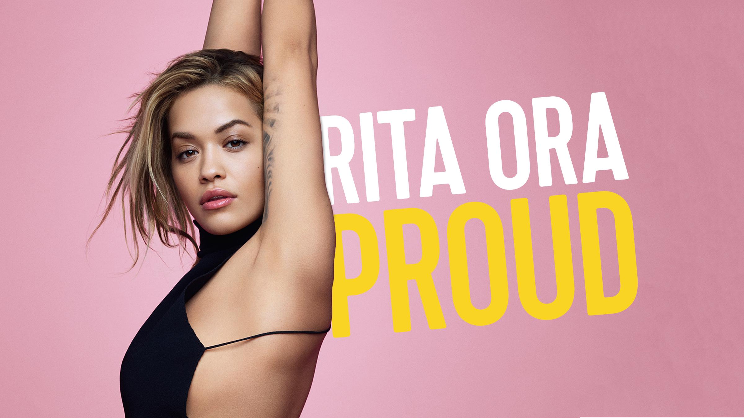 Rita ora proud   home