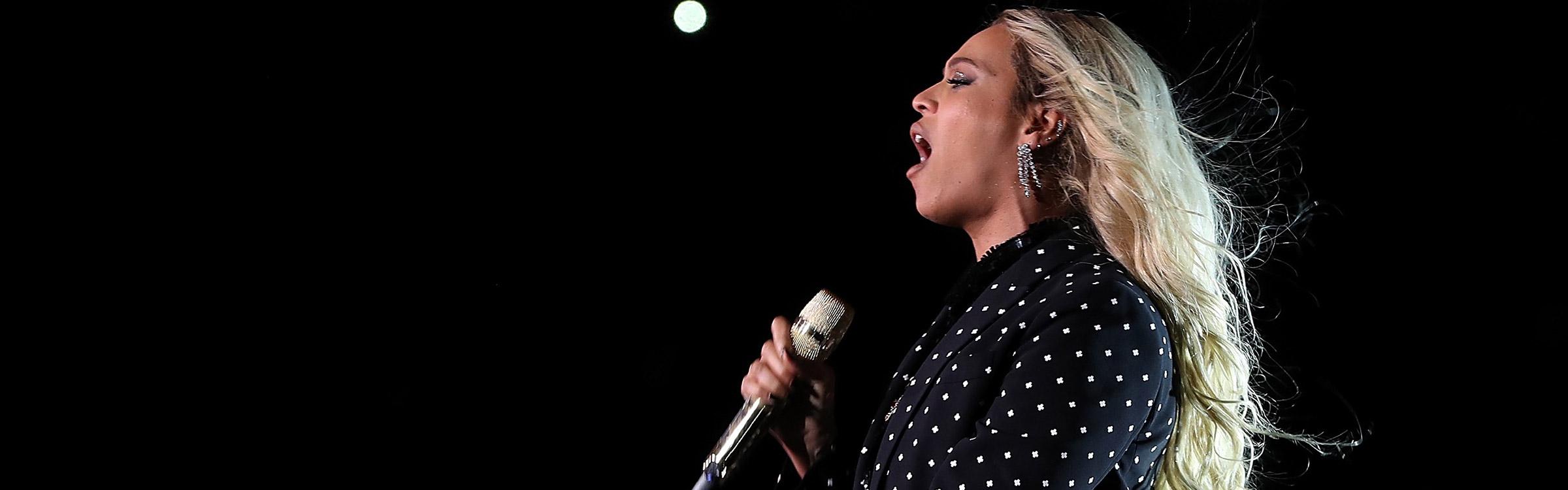 Beyonce header afbeelding