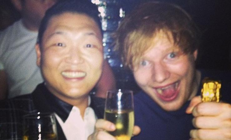 Ed sheeran psy