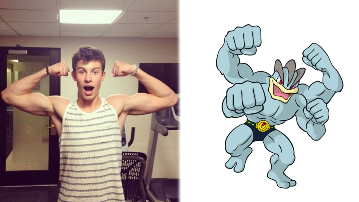 Shawn mendes  machamp