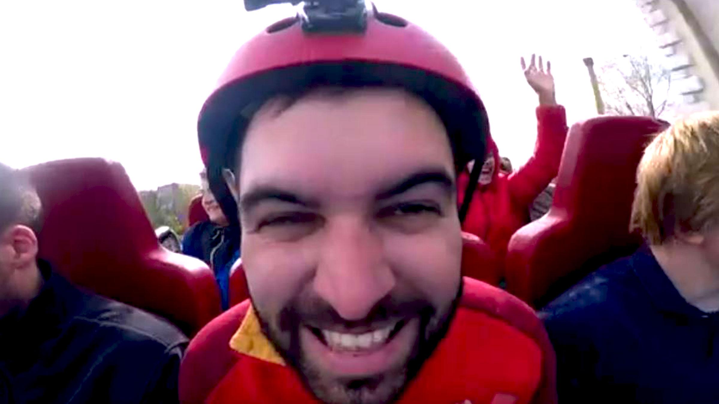 Vincent vlog pretpark home def