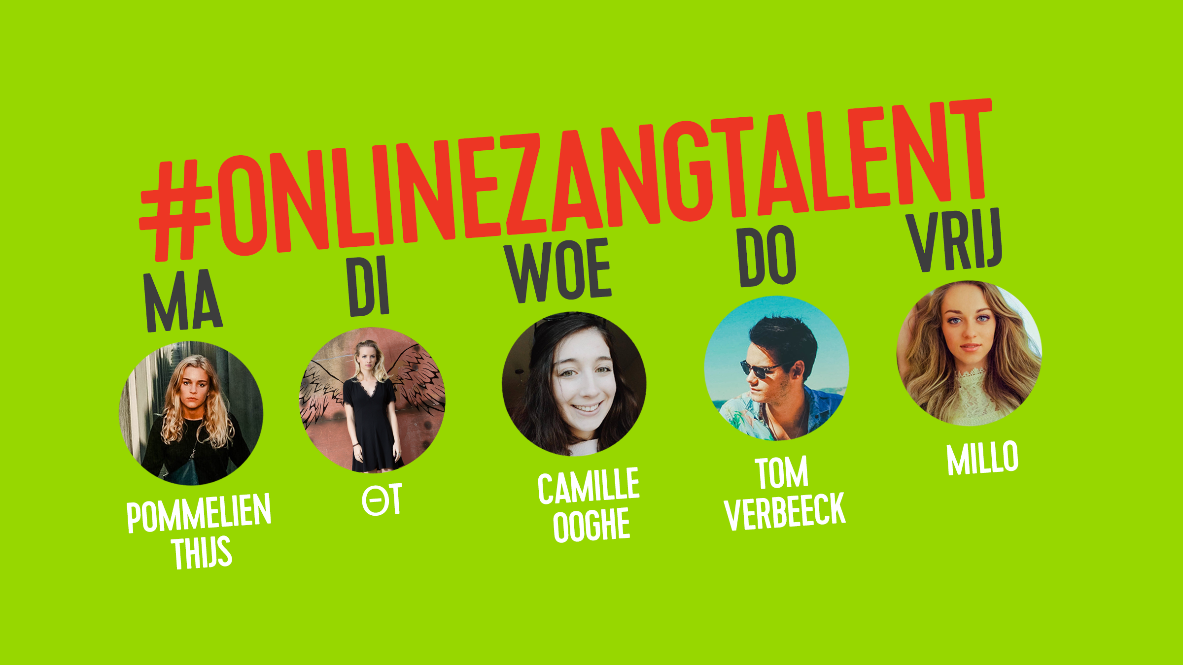 Online zangtalent april