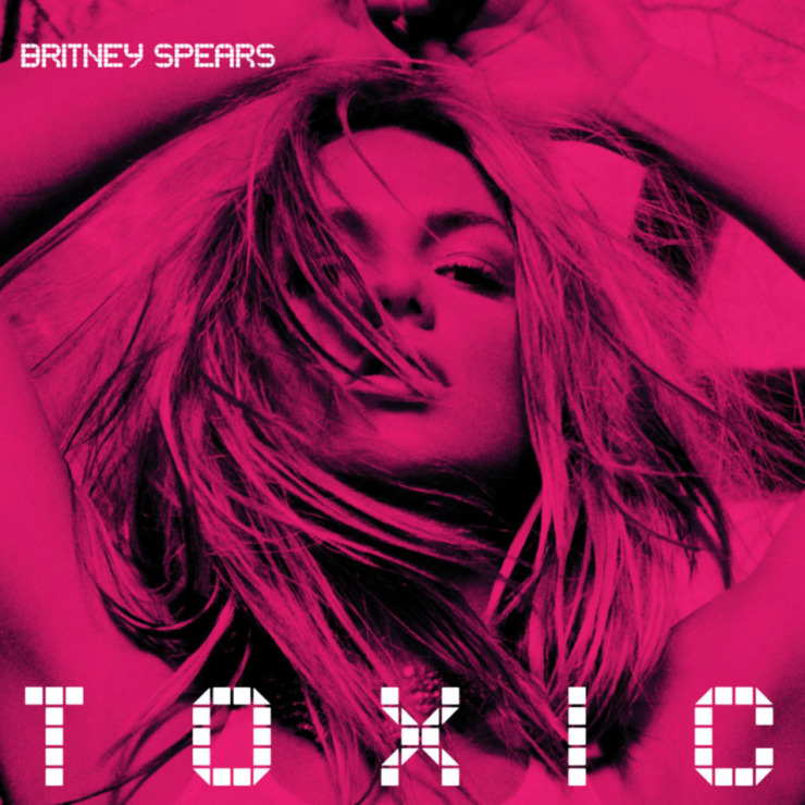Britney spears toxic  2528cd single 2529 frontal