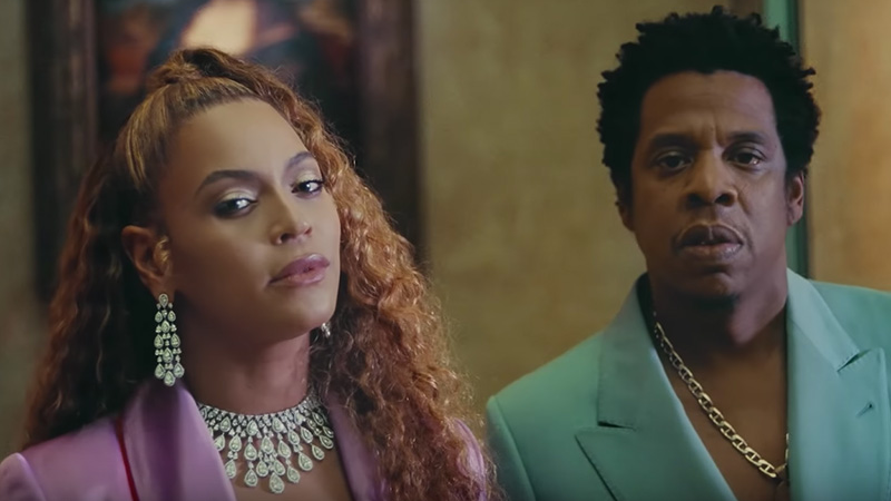 Beyonce jay z apeshit music video