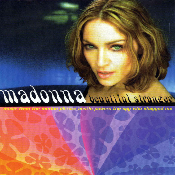 Madonna beautiful stranger  cd single  frontal