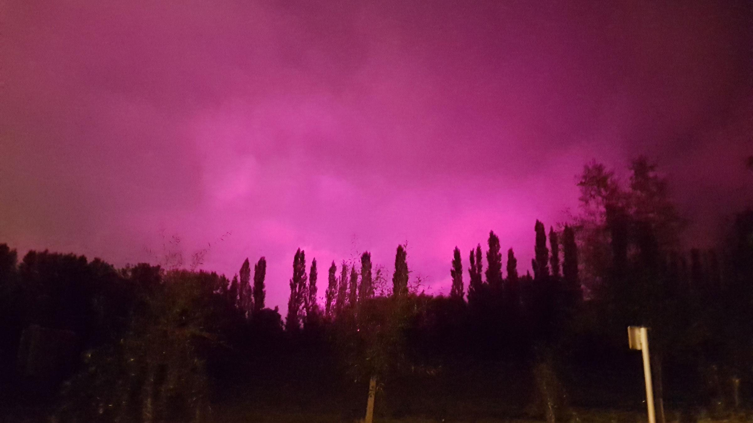 Roze licht home