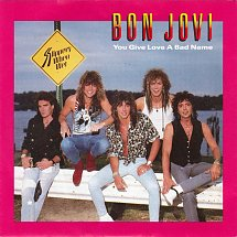 Bon jovi you give love a bad name mercury 3 s