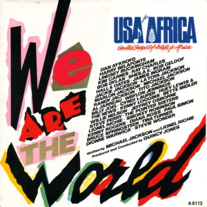 1985usa for africa we are the world