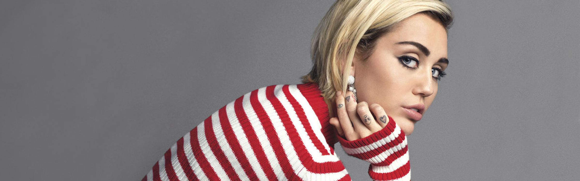 Miley meisje header
