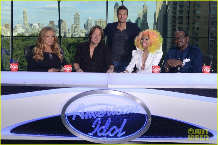 Mariah carey nicki minaj american idol promo shot 03