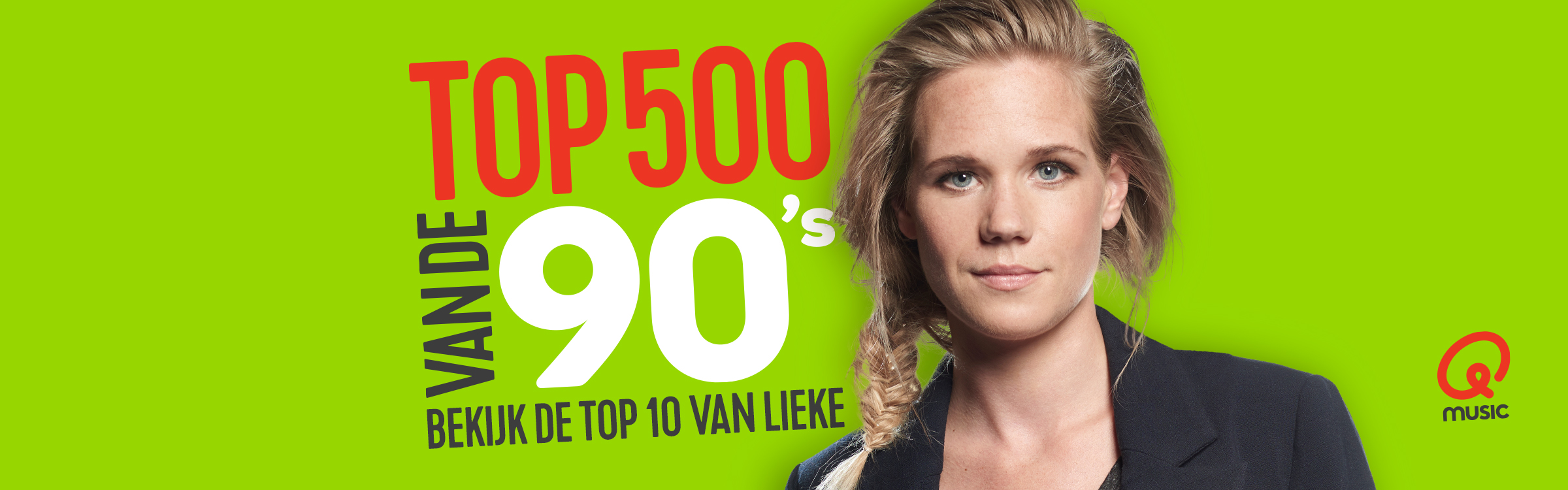 Qmusic actionheader 90s dj lieke