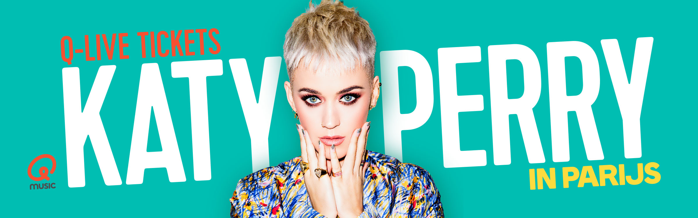 Qmusic actionheader katyperry