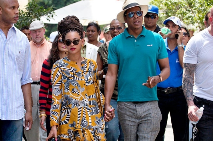 Beyonce jay z cuba anniversary 650 430