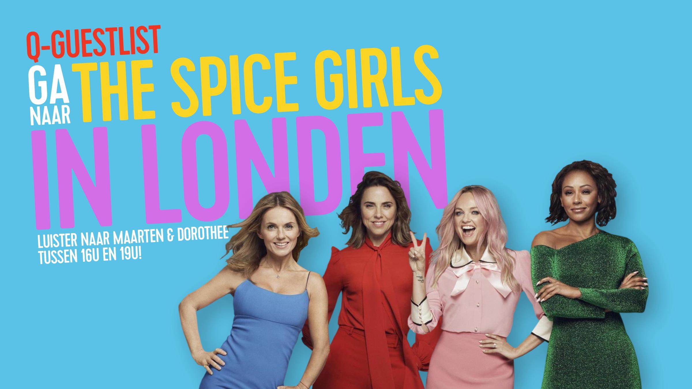 Spice girlsguestlist