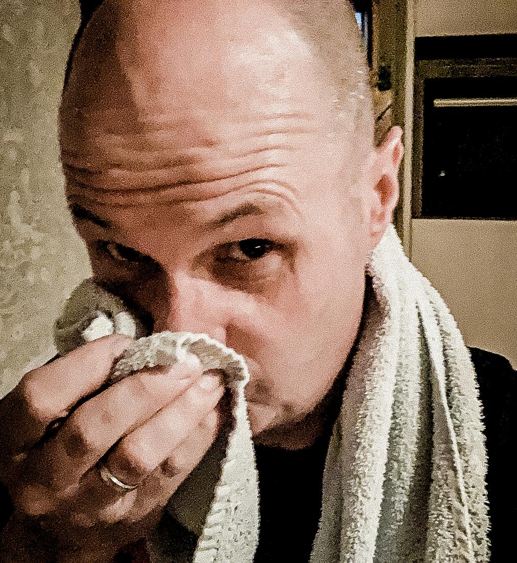 Ramones handdoek