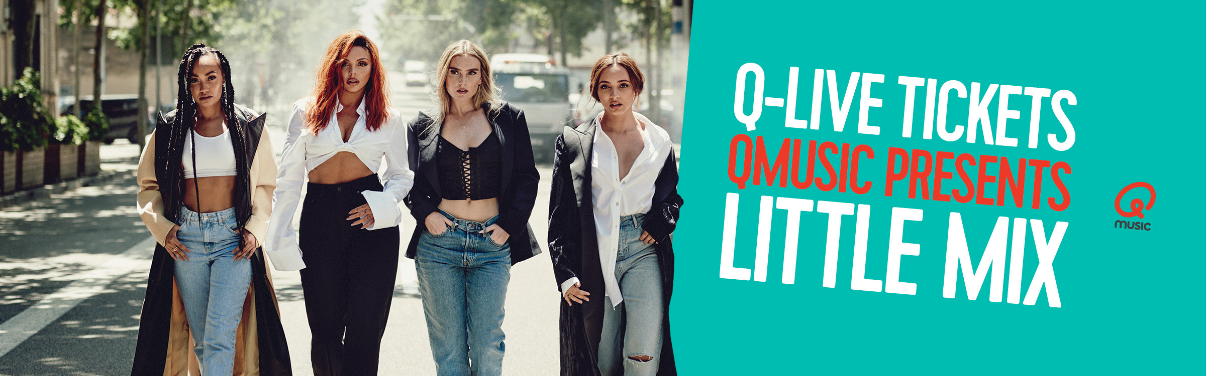 Qmusic actionheader littlemix