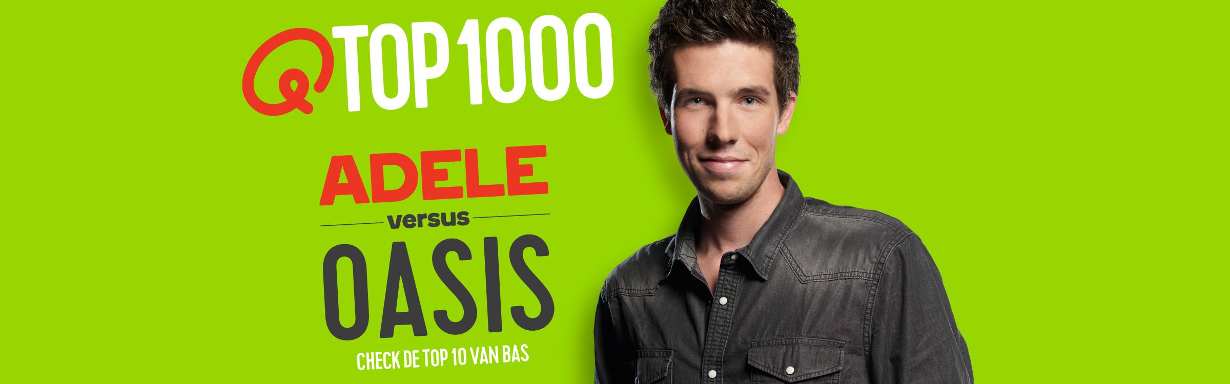 Qmusic actionheader top1000 djs bas