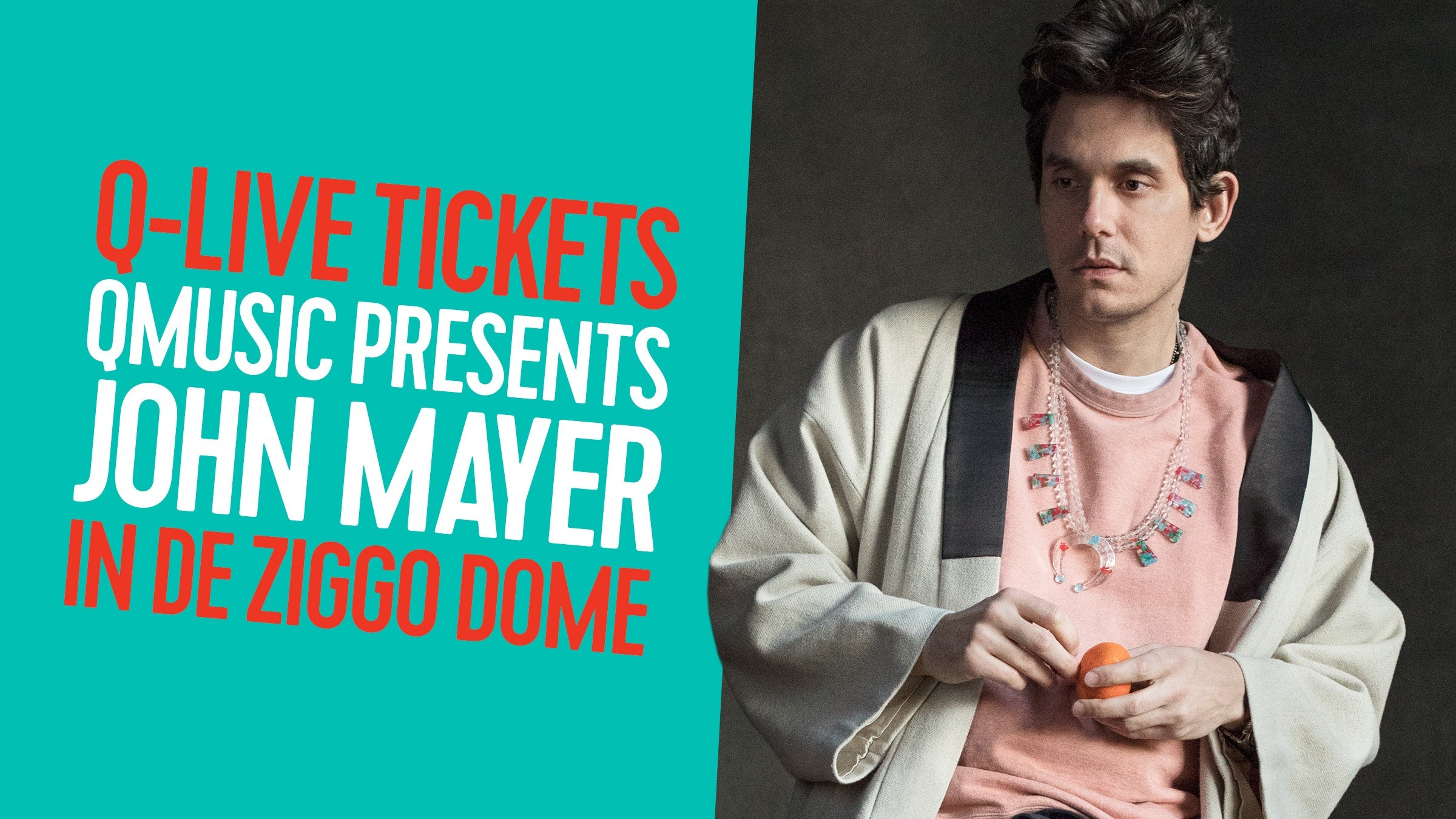 Qmusic teaser johnmayer qmusic