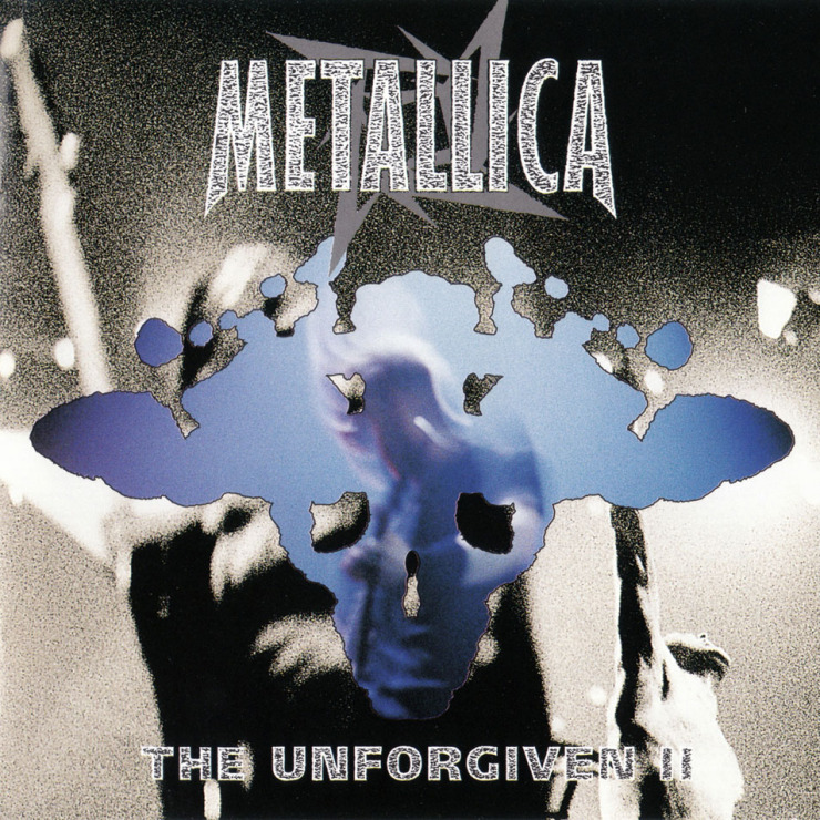 Metallica the unforgiven ii  cd single  frontal