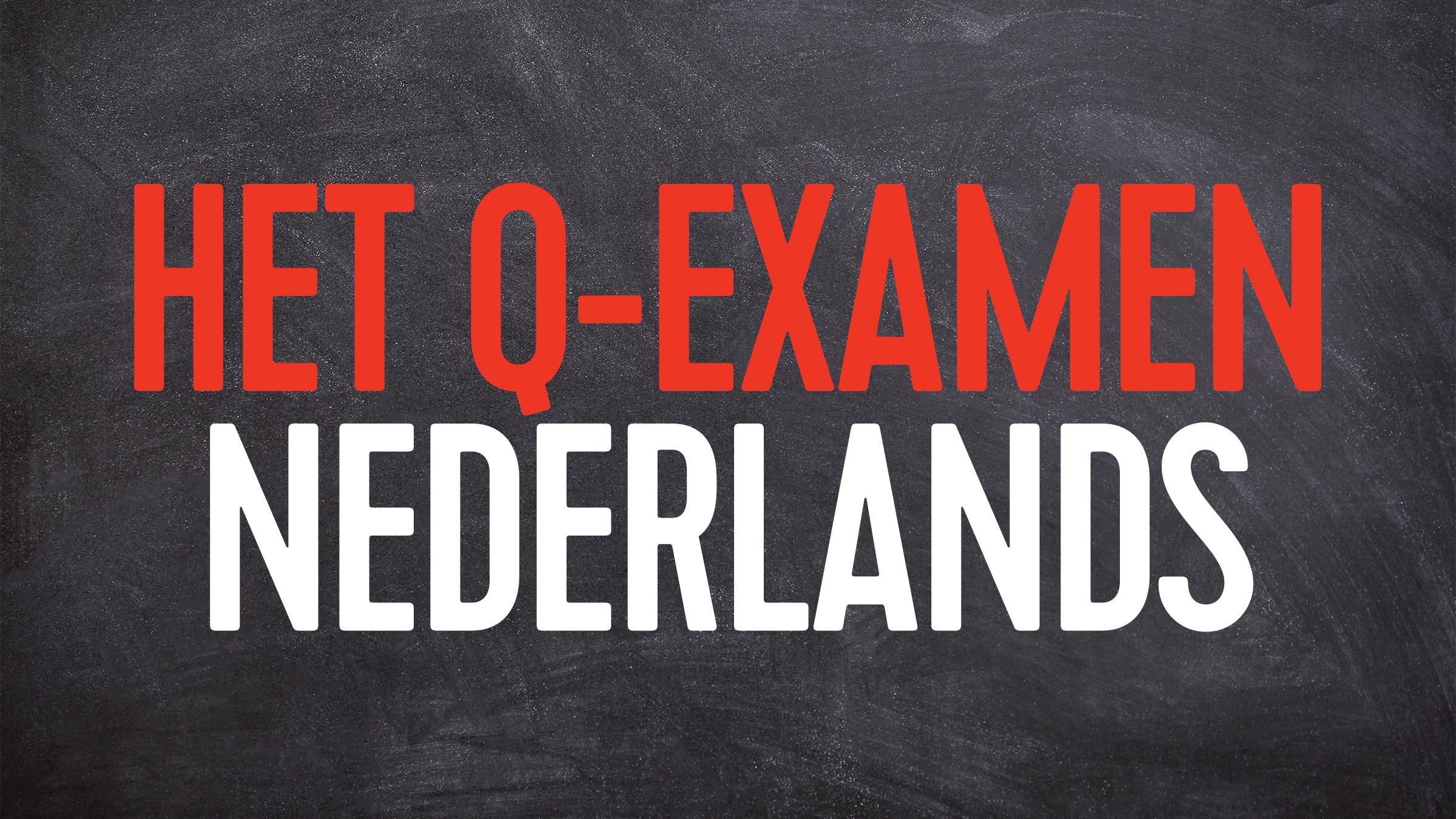 Q examen nederlands