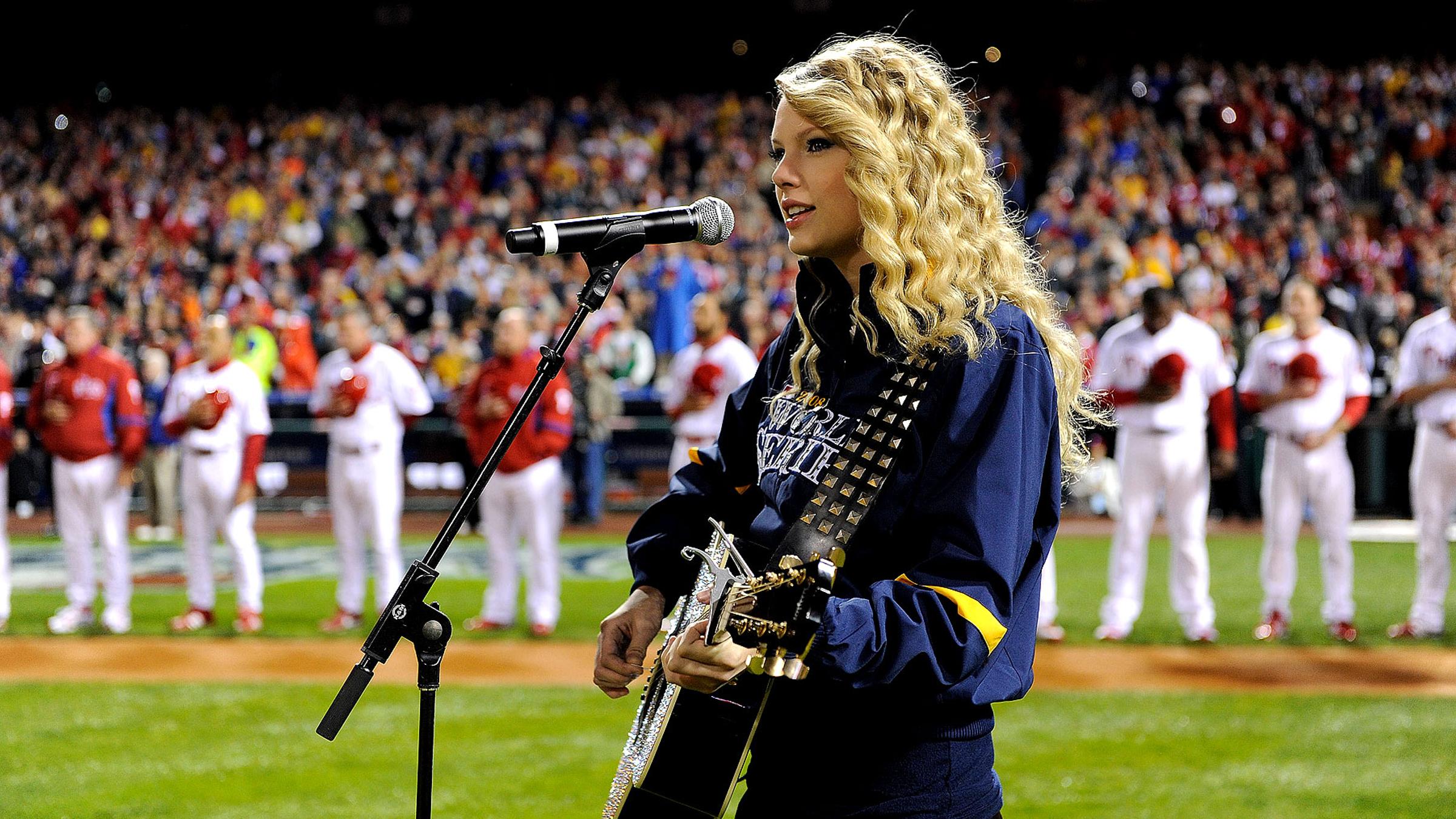 Taylorswift baseball teaser