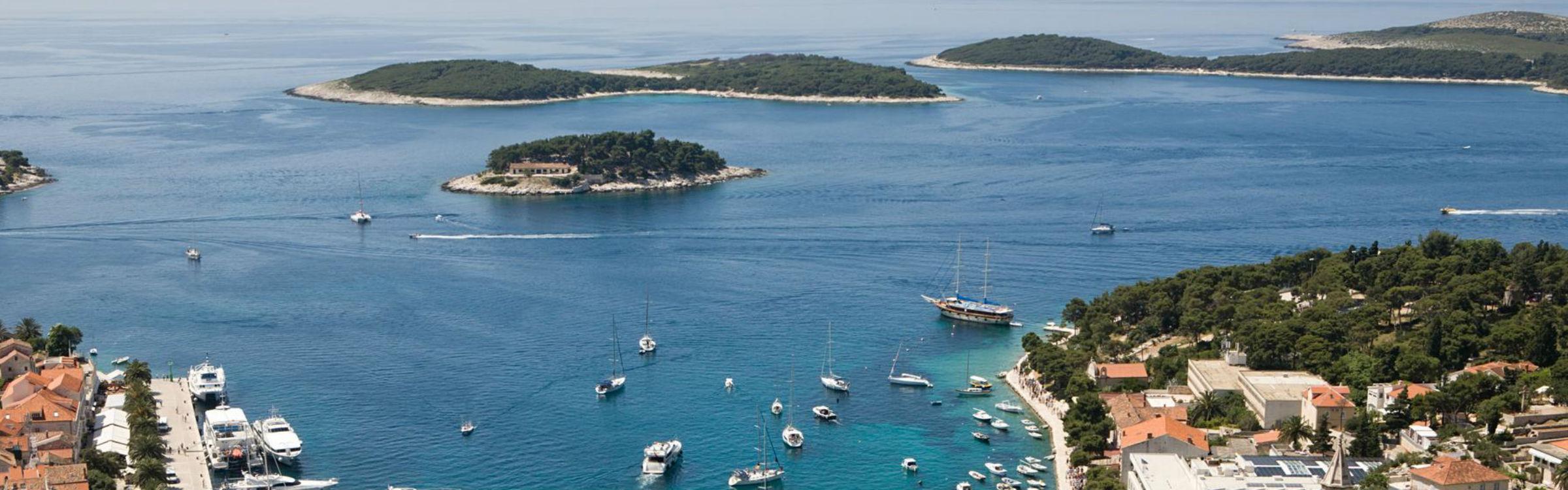Kroatie kust lang