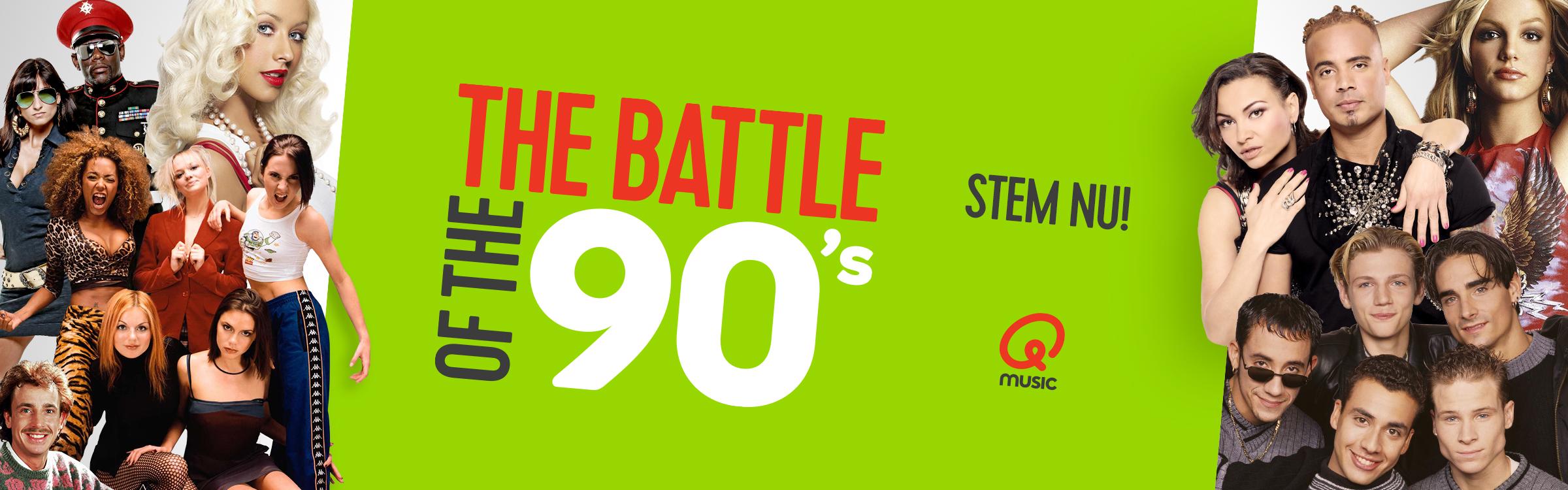 Qmusic actionheader top500 90s battles