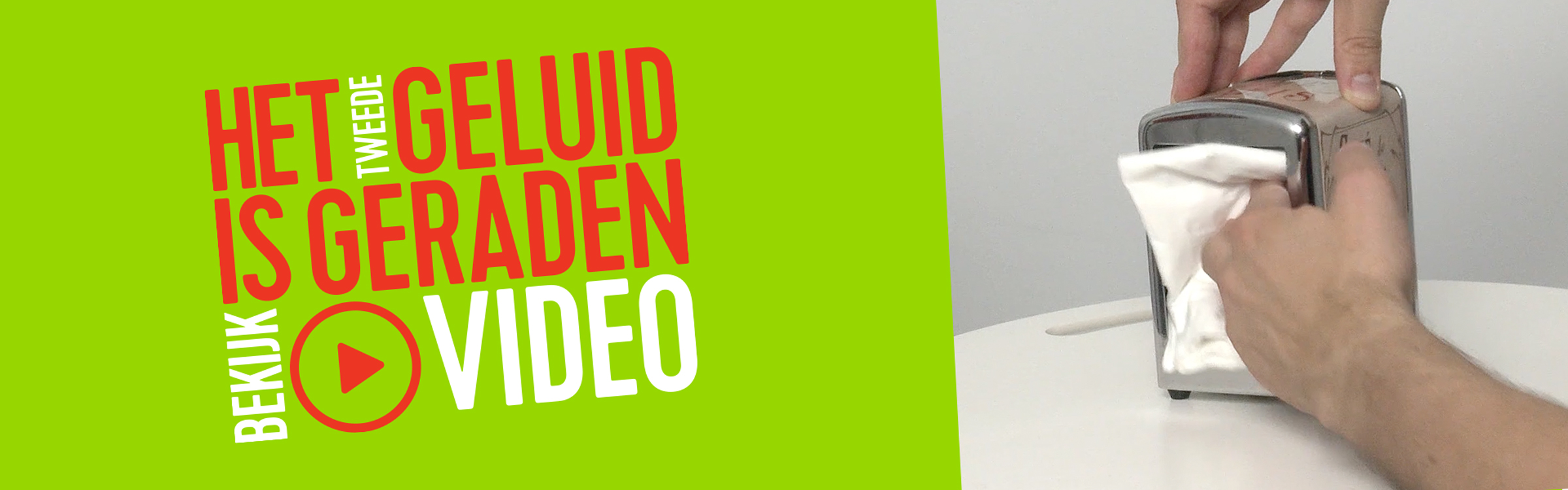 Hetgeluid tweedegeraden video header
