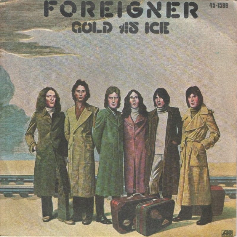 Foreigner cold as ice atlantic 10