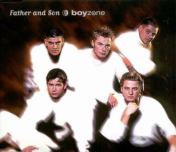 Boyzone father and son