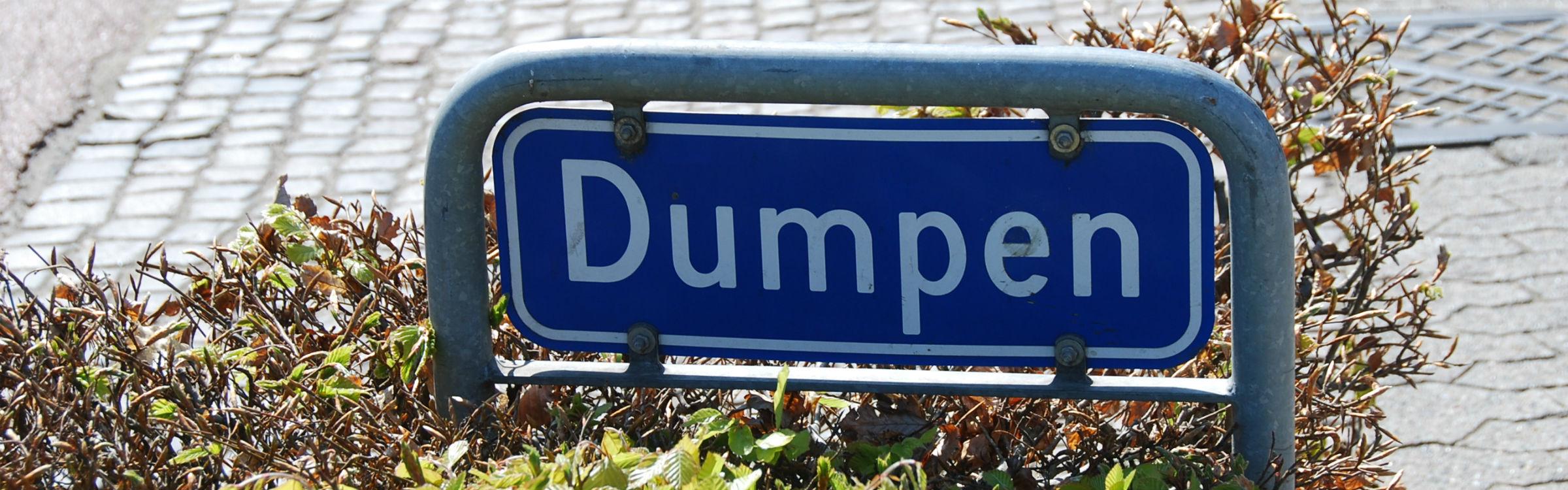 Dumpen header