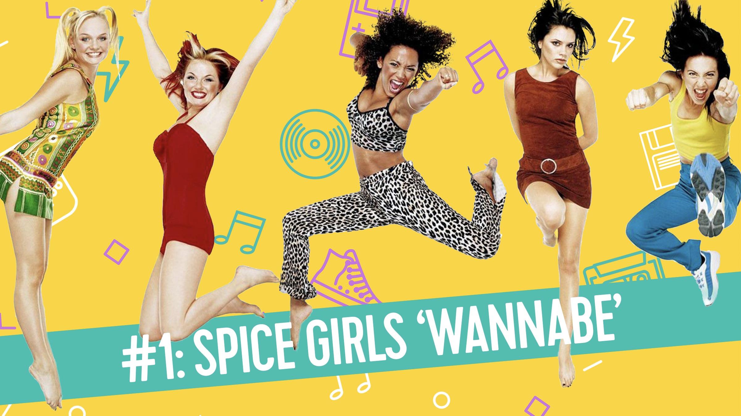 190301   mijlpaal   spice girls   wannabe
