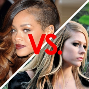 Rihanna vs avril