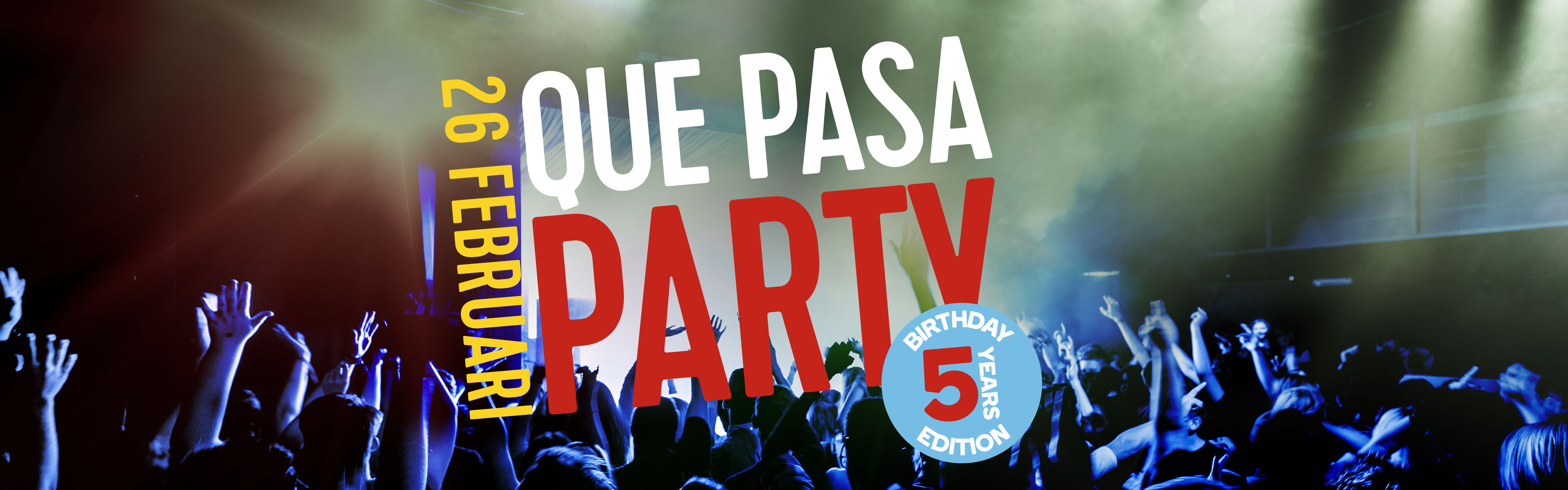 Quepasaparty 5jaar header