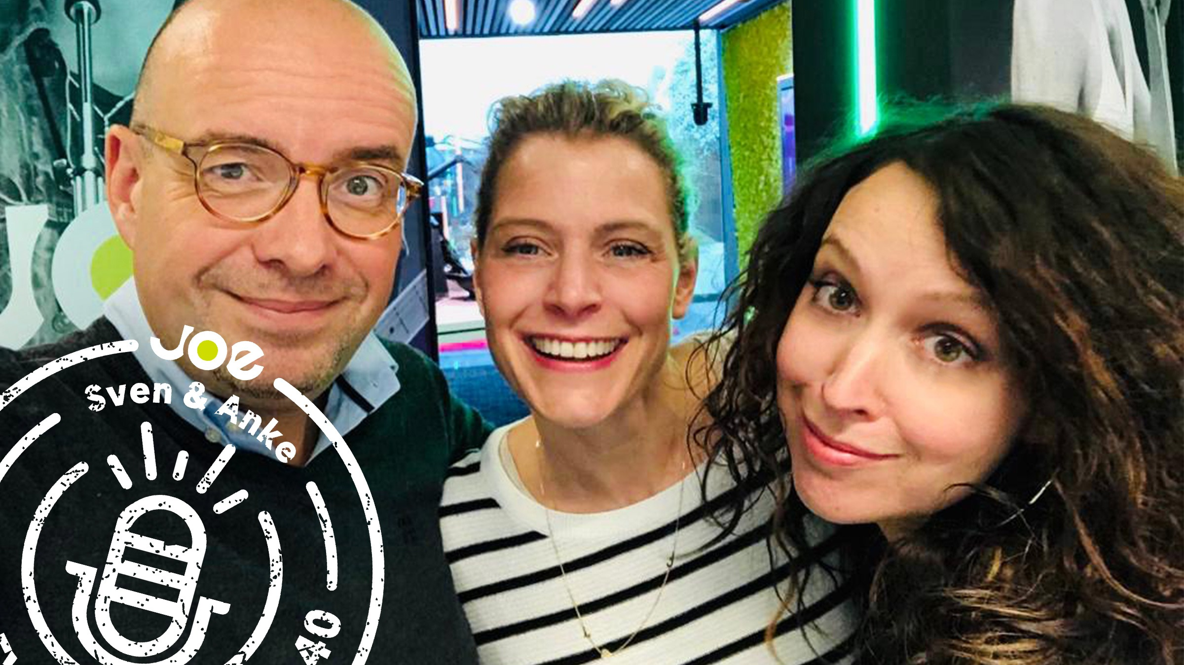 Joe sven anke podcast stempel dina
