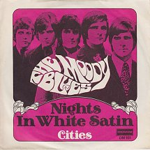 The moody blues nights in white satin deram 3 s