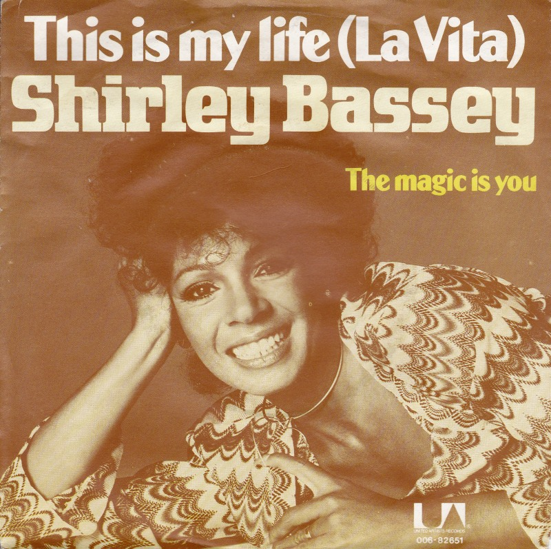 Shirley bassey this is my life la vita united artists records