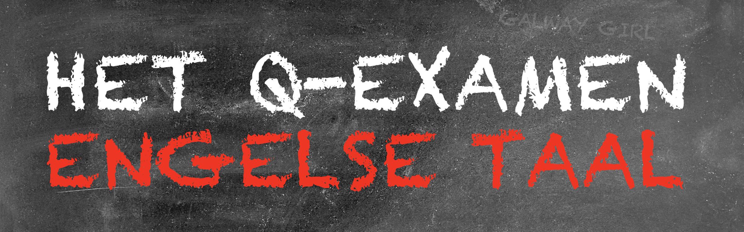 Qexamenengels header