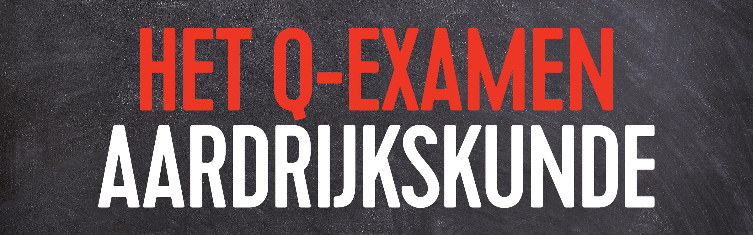 Q examen aardrijkskunde header