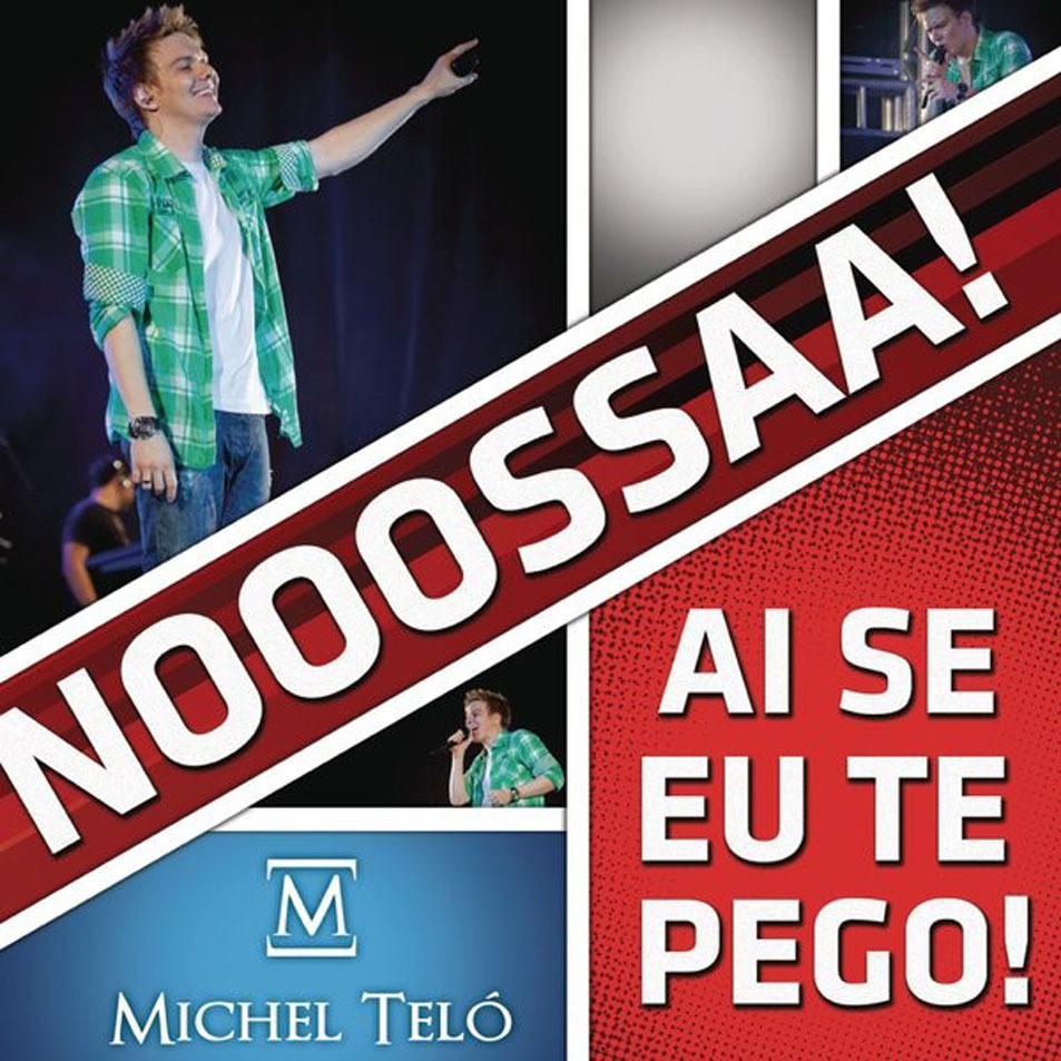 Michel telo ai se eu te pego  cd single  frontal