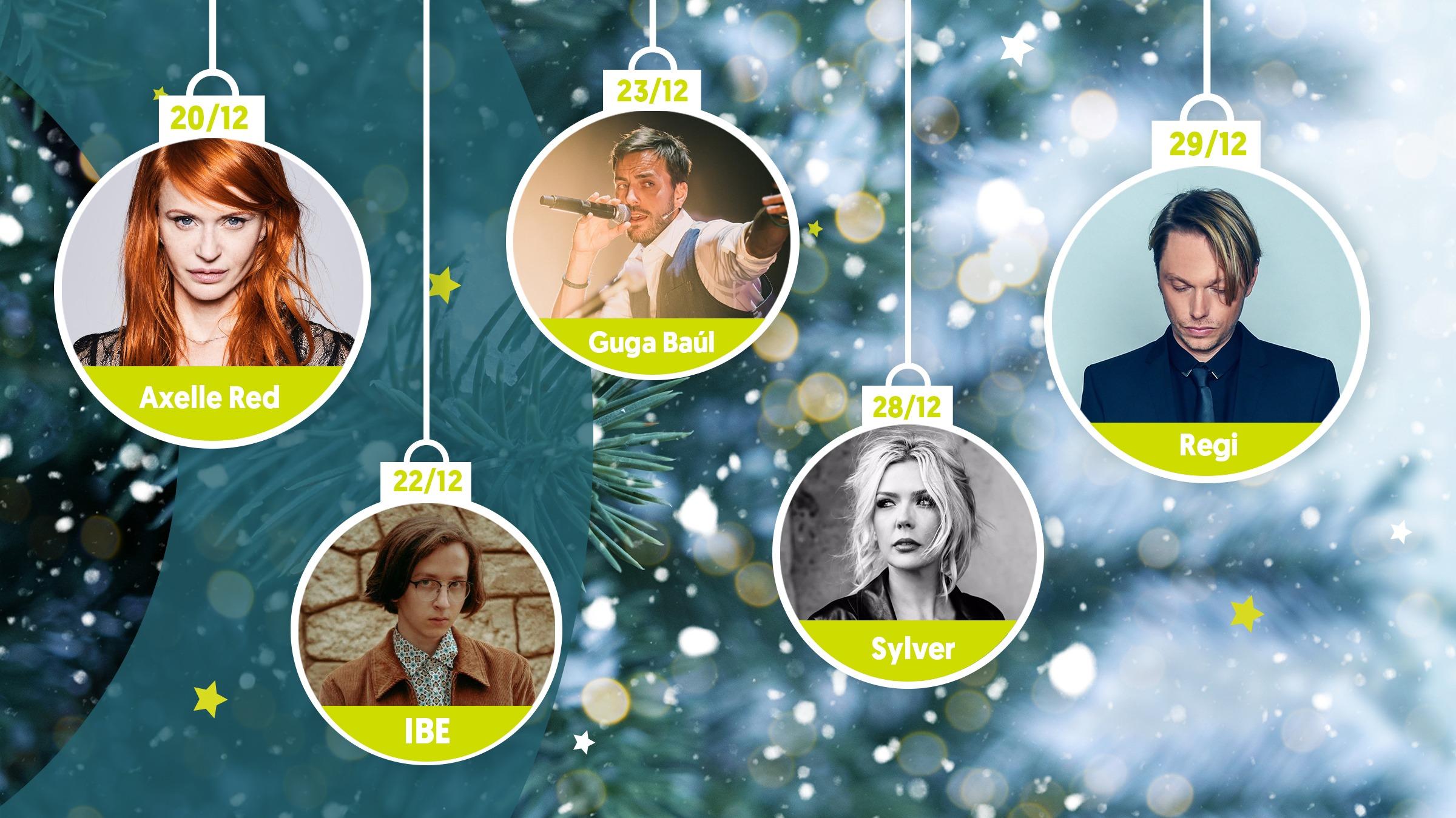 Line up kerstballen week3