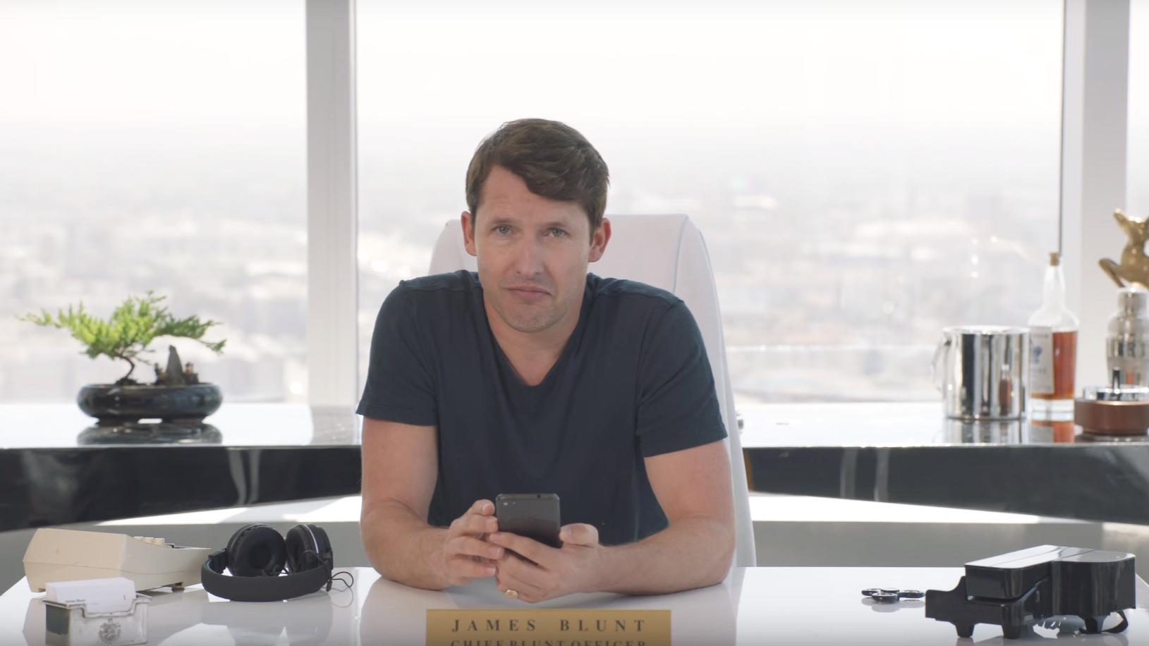Jamesblunt teaser