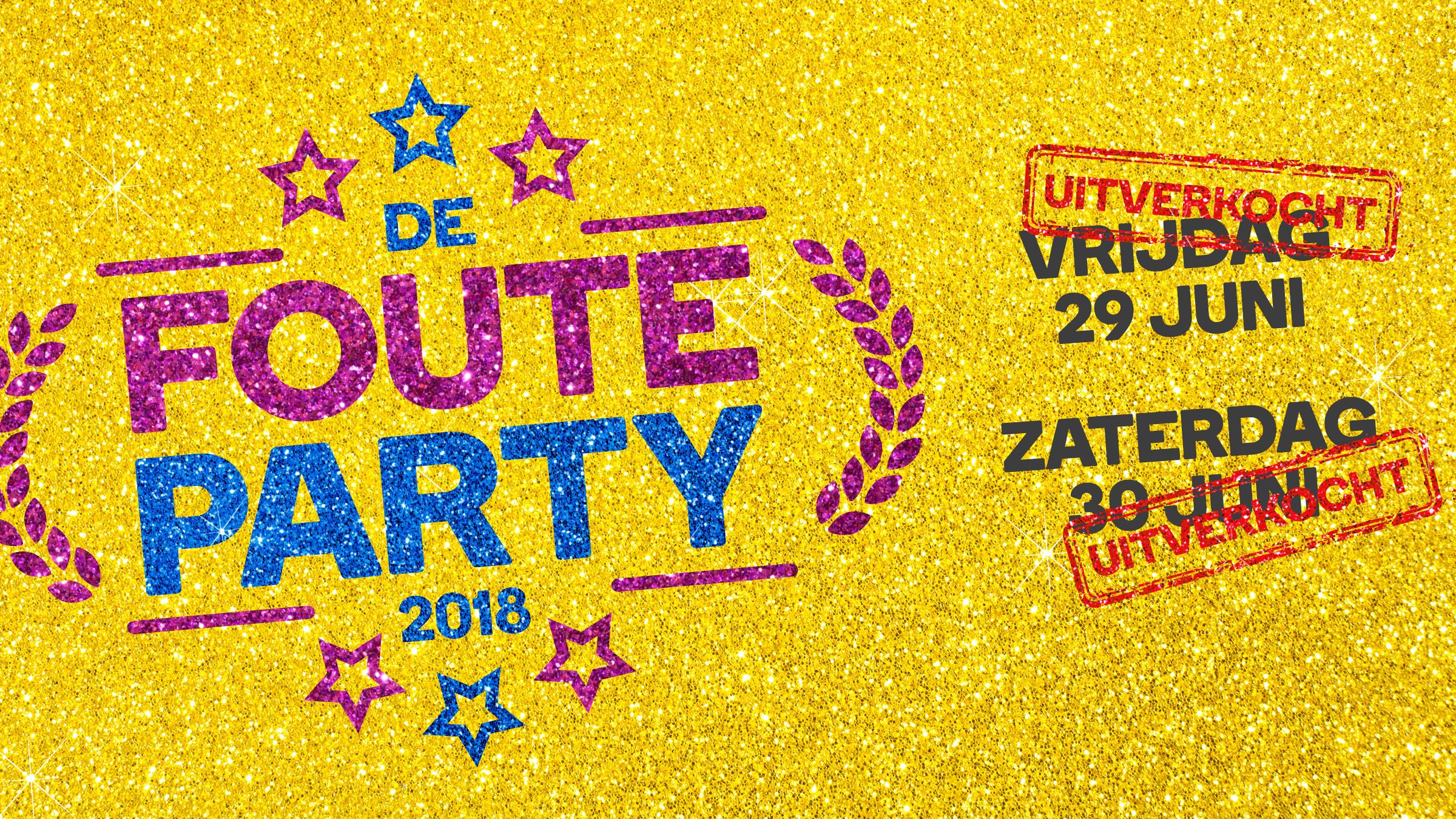 Qmusic teaser fouteparty2018 uitv