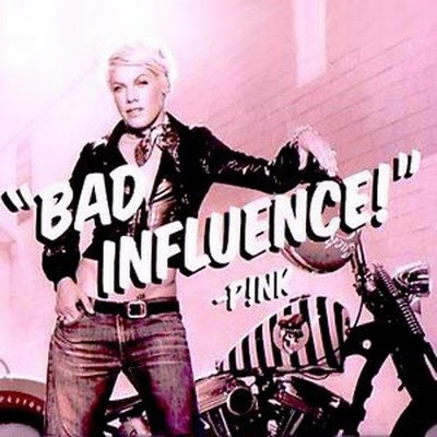 Pink+ +bad+influence+ 28official+single+cover    29