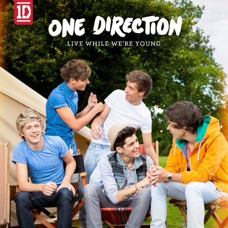 One direction live while were young