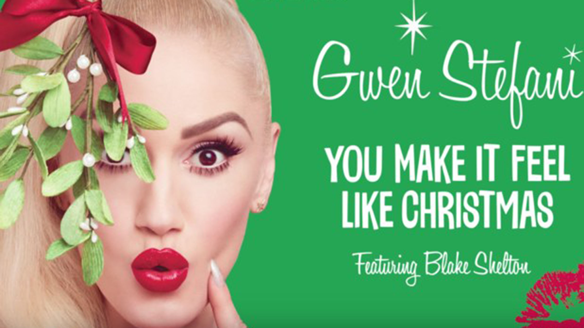 Gwen stefani you make it feel christmas