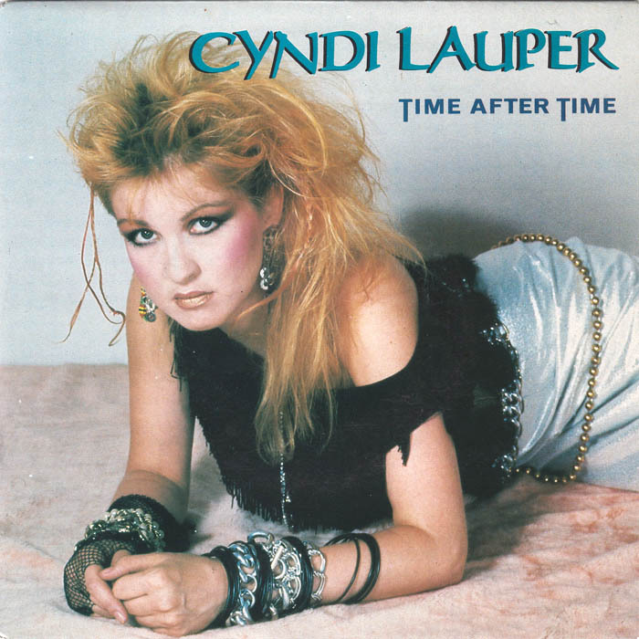 Cyndi lauper time after time portrait 6